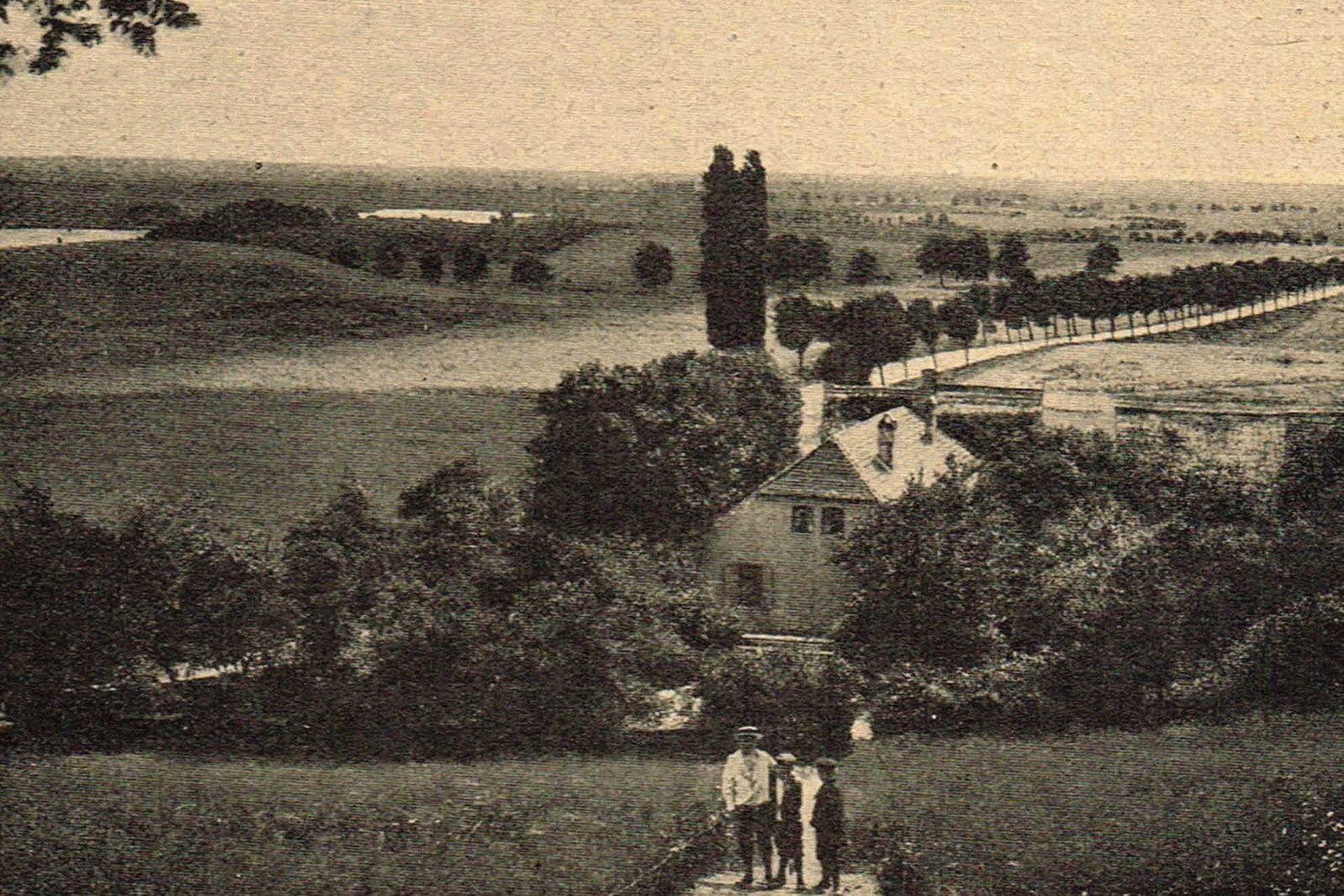 Burgwall bei Pasewalk - Wilsickow, Permensberge, Pasewalk, Mecklenburg-Vorpommern, Brietzig, Breetsch