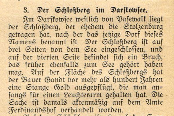 Schlossberg Darskowsee 600x400 - Stolzenburg, Pasewalk, Mecklenburg-Vorpommern, Gandt, Ferdinandshof, Darskowsee