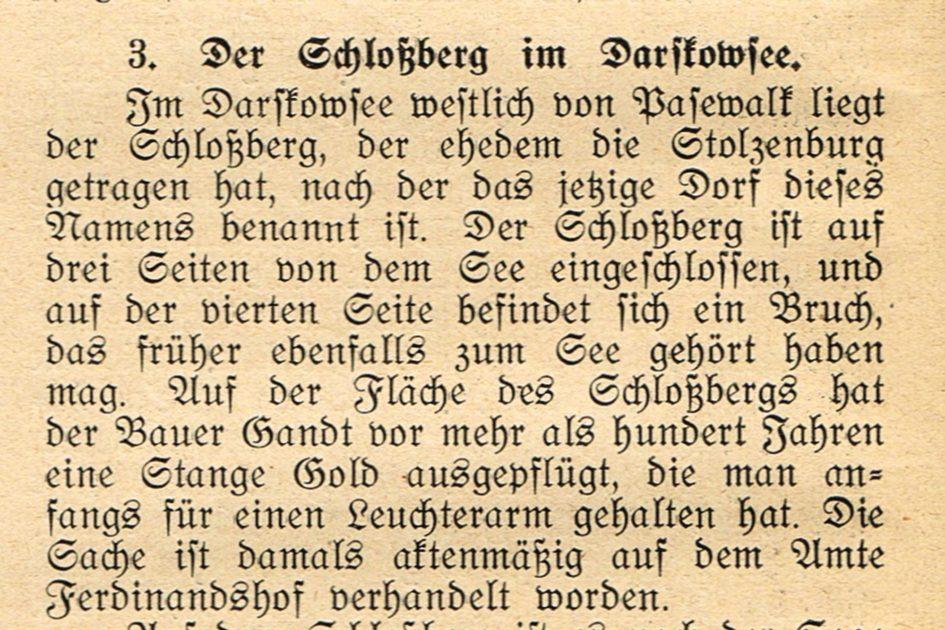 Schlossberg Darskowsee 945x630 - Stolzenburg, Pasewalk, Mecklenburg-Vorpommern, Gandt, Ferdinandshof, Darskowsee