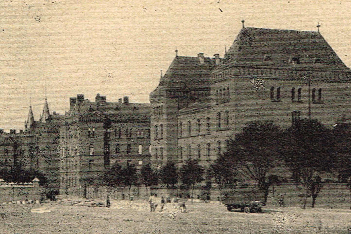 Kaserne des Kürassier Regiments Königin 1 - Pasewalk