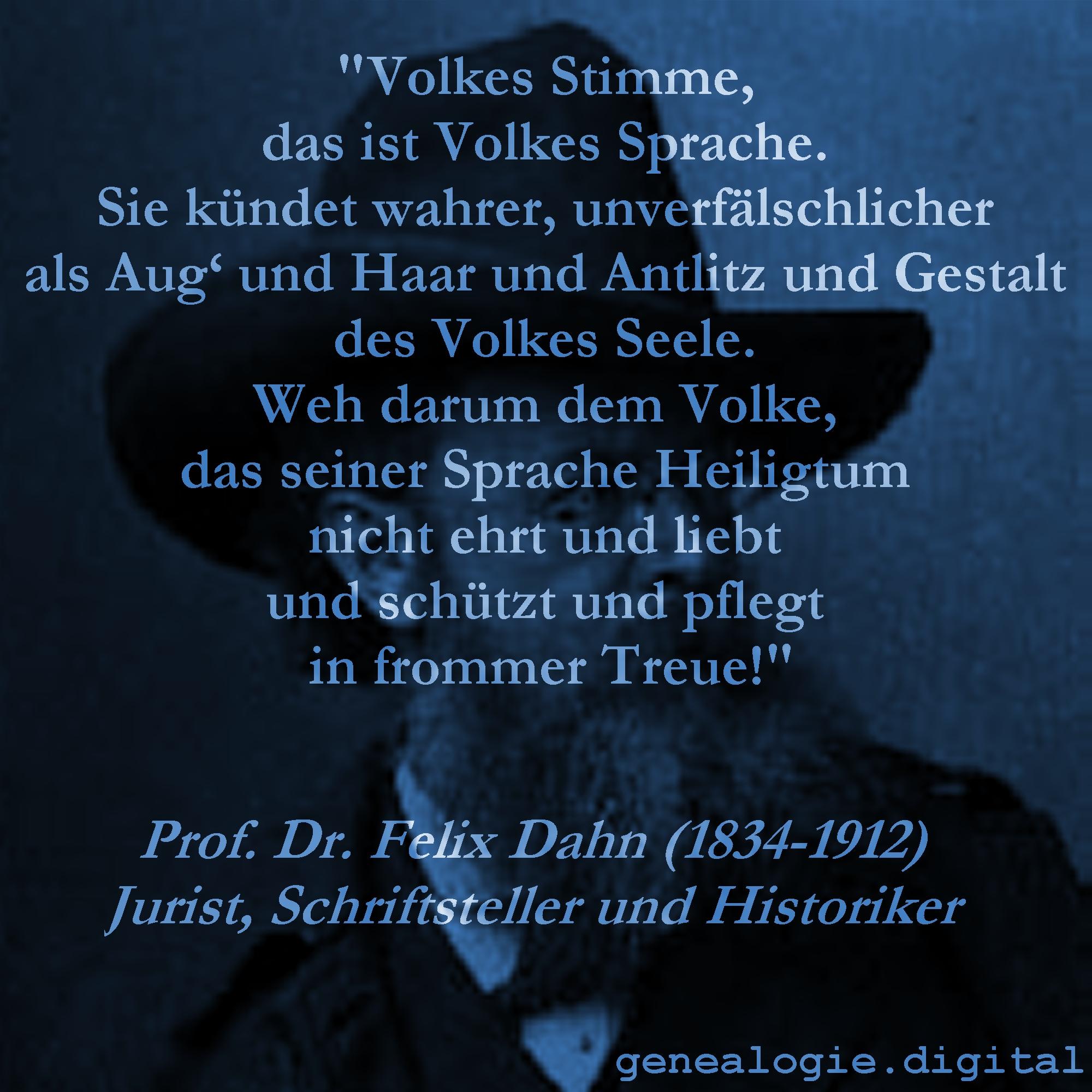FelixDahn VolkesStimme -