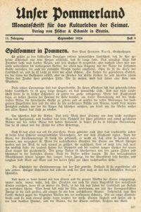 Spätsommer in Pommern 1926 200x300 - Ruth, Pommern, Paul Hermann Ruth, Mecklenburg-Vorpommern, Großenhagen, 1926