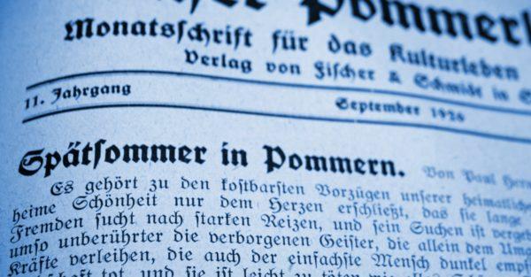 Spätsommer in Pommern 600x313 - Ruth, Pommern, Paul Hermann Ruth, Mecklenburg-Vorpommern, Großenhagen, 1926