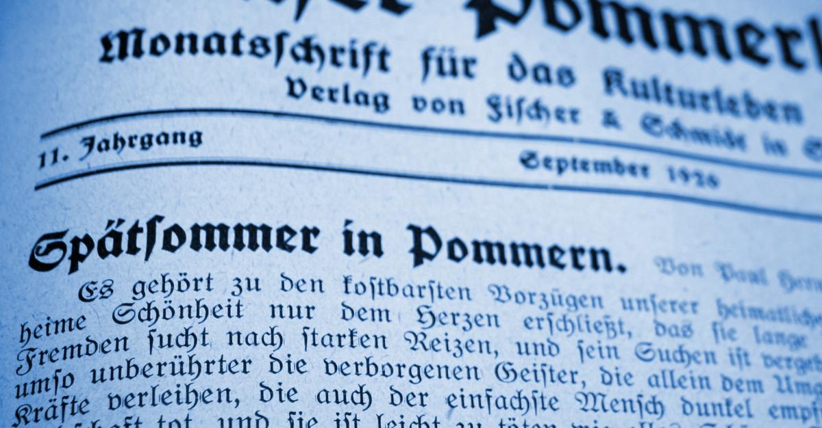 Spätsommer in Pommern - Ruth, Pommern, Paul Hermann Ruth, Mecklenburg-Vorpommern, Großenhagen, 1926
