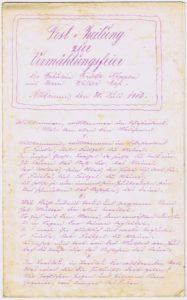 Festzeitung Seite 1 187x300 - Stettin, Pommern, Pickelhaube, Maas, Köppen, Hinterpommern, Festzeitung, Breslau, Altdamm, 1913
