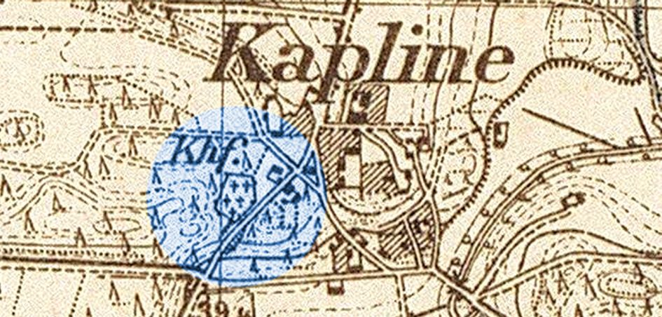 Friedhof Kapline 945x452 - Zimpel, Seide, Schelske, Provinz Posen, Kuß, Kurzweg, Kriese, Kliche, Kapline, Kaiser, Herder, Groß Luttom, Fehlberg, Birnbaum, Alschweig, 1885, 1884