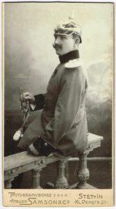 Walter Maas 167x300 - Stettin, Pommern, Pickelhaube, Maas, Köppen, Hinterpommern, Festzeitung, Breslau, Altdamm, 1913