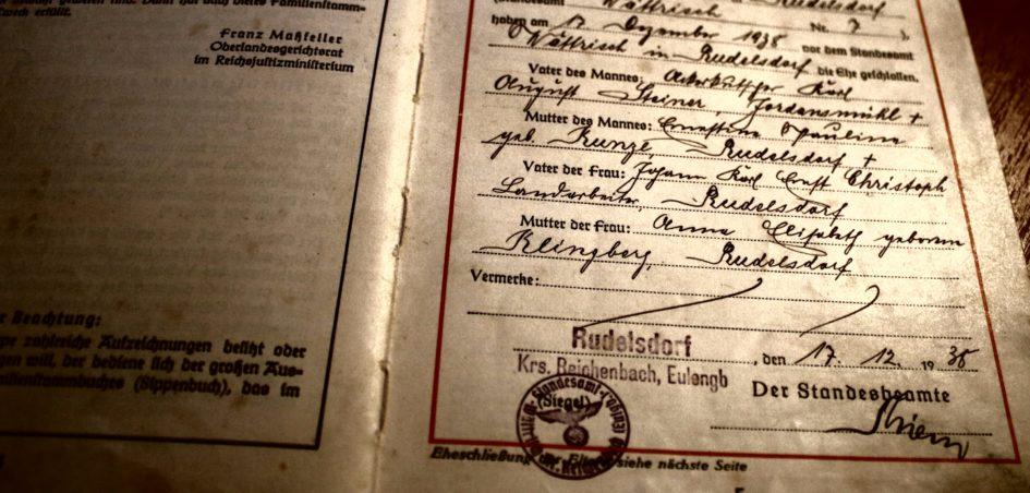 Ahnenforschung steiner christoph 945x452 - Steiner, Schlesien, Rudelsdorf, Niederschlesien, Landarbeiter, Kunze, Kreis Reichenbach, Klingberg, Jordansmühl, Christoph, Ackerkutscher, 1938, 1915, 1913