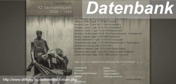 Totenbuch KZ Sachsenhausen 1936 1945 genealogie.digital 1 600x287 - Stiftung Brandenburgische Gedenkstätten, Roger Bordage, Pierre Gouffault, Opfer des Nationalsozialismus, Nationalsozialistische Deutsche Arbeiterpartei, Konzentrationslager, Gedenkstätte und Museum Sachsenhausen