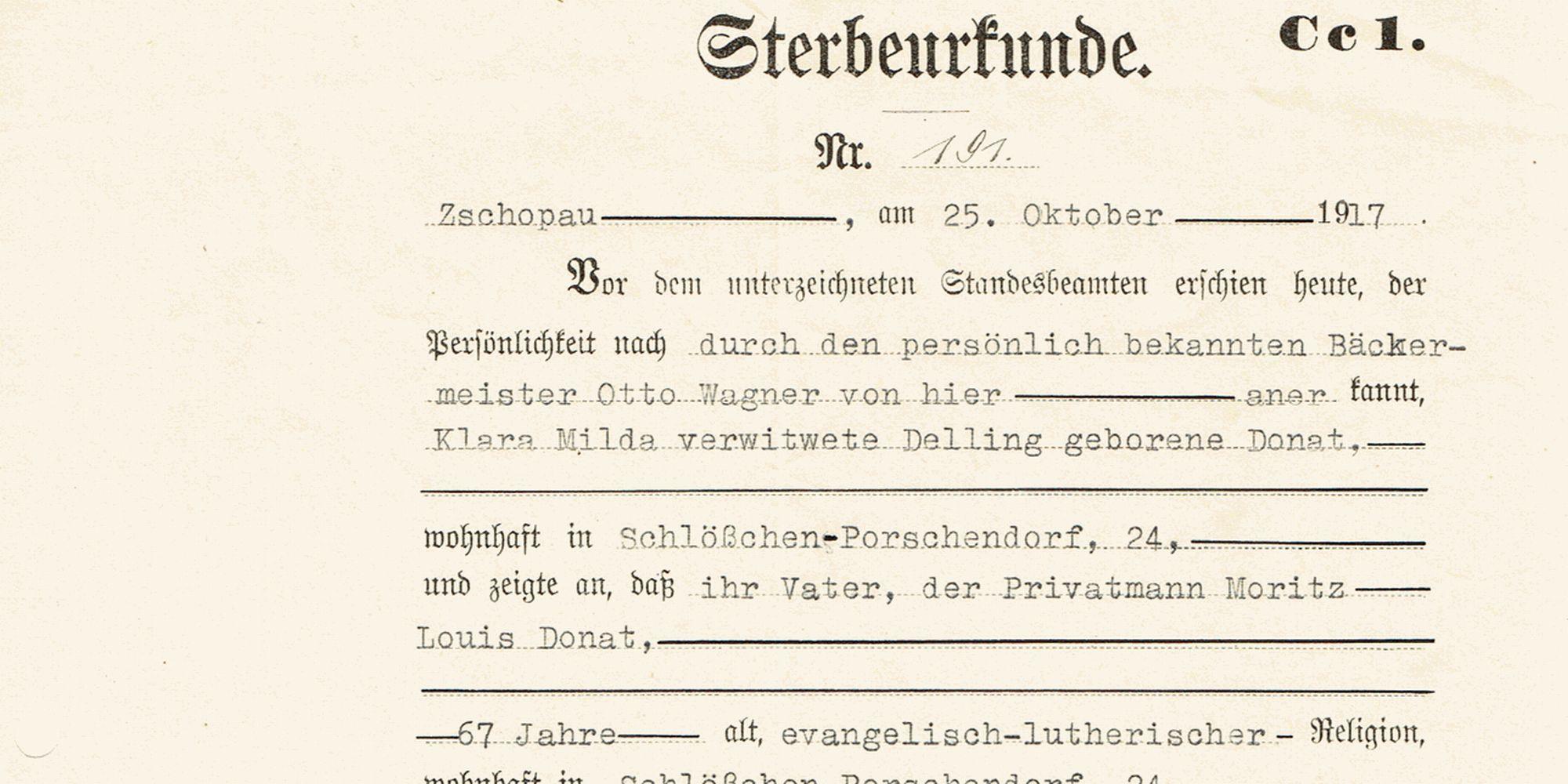ahnenforschung genealogie sterbeurkunde dilibra -