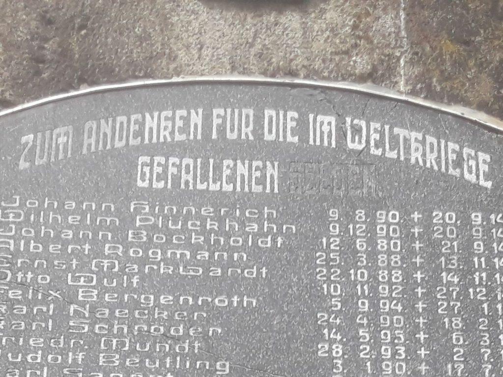 Gefallenendenkmal Ahnenforschung Spornitz Parchim 11 1024x768 - Spornitz, Mecklenburg-Vorpommern, Gefallene, 2. Weltkrieg, 1919, 1918, 1917, 1916, 1915, 1914, 1. Weltkrieg